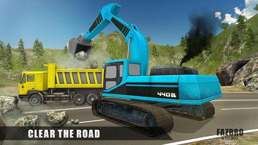 Heavy Excavator Rock Mining Stone Cutter Simulator 4.5 screenshots 12