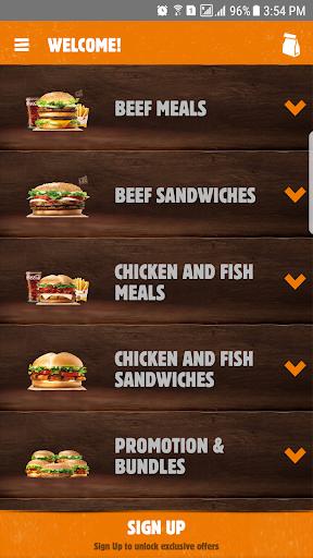 Burger King Arabia 4.6.9 Screenshots 1