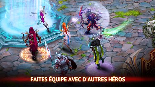 Code Triche Guild of Heroes - fantasy RPG apk mod screenshots 5