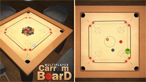 Multiplayer Carrom Board : Real Pool Carrom Game  screenshots 14