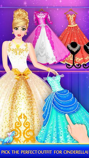 Cinderella Beauty Makeover : Princess Salon 1.8 screenshots 7