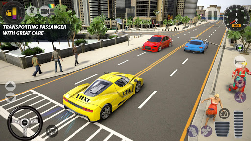Superhero Taxi Car Driving Simulator - Taxi Games 1.0.2 Screenshots 5
