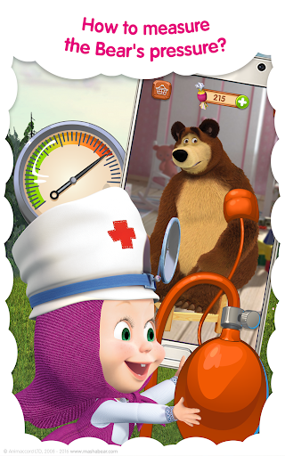 Masha and the Bear: Free Animal Games for Kids screenshots 11