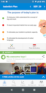 Kinedu: Baby Developmental Activities & Milestones Screenshot