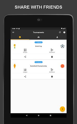 Winner - Tournament Maker App, League Manager 9.9.2 Screenshots 5