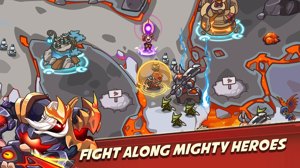 Empire Warriors Premium: Tower Defense Games poster 1