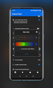 Volume Control Panel - Style It Your Way!