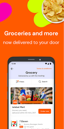 talabat: Food & Grocery Delivery 7.7.2 Screenshots 4