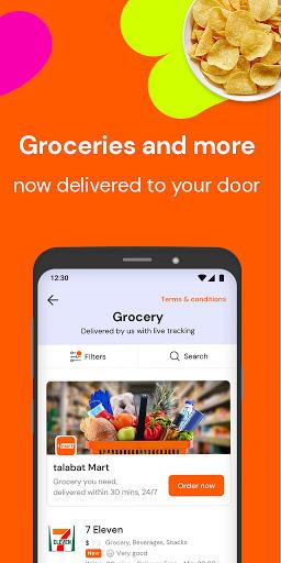 talabat: Food & Grocery Delivery apktram screenshots 4