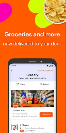 talabat: Food & Grocery Deliveryのおすすめ画像4