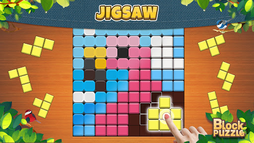 Wood Block Puzzle: Classic wood block puzzle games android2mod screenshots 14