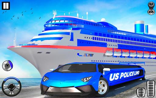 US Police Limo Transport, Aeroplane transport Game 1.0.9 screenshots 8