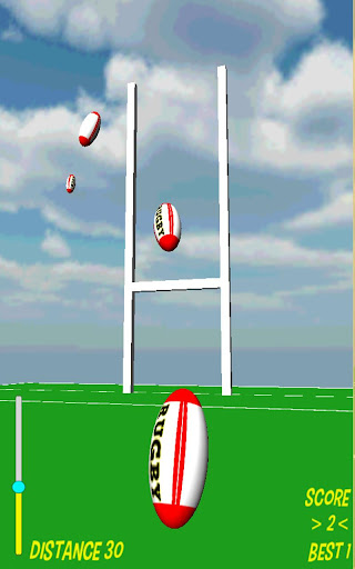 rugby goal kicker screenshot 3