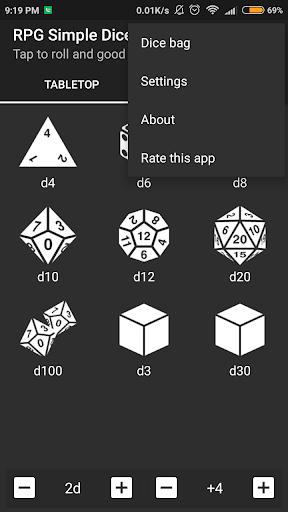 RPG Simple Dice  screenshots 4