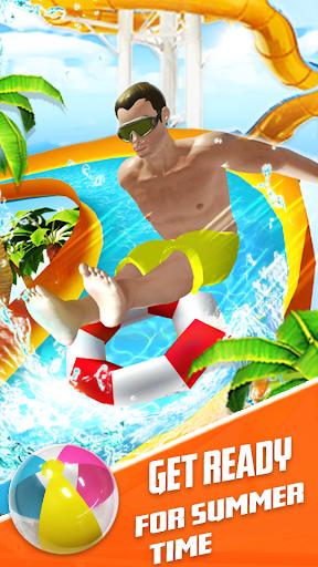 Water Slide Summer Splash - Water Park Simulator apkmr screenshots 3