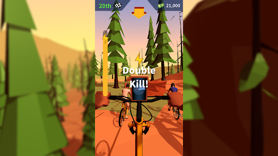 Mountain Bike Bash Screenshot