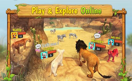 Lion Family Sim Online - Animal Simulator 4.2 screenshots 17