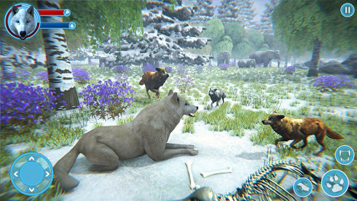 Arctic Wolf Family Simulator: Wildlife Games 17 screenshots 11
