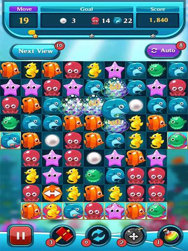 Ocean Match Puzzle 1.2.4 screenshots 1