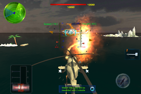 Sky-Helicopter-GunShip-AirCombat Online Hack Android & iOS 2