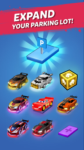 Merge Neon Car: Car Merger 2.2.4 screenshots 6