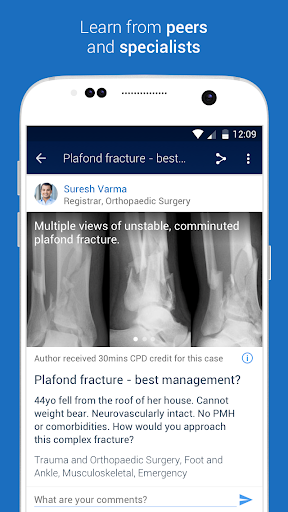 MedShr: Discuss Clinical Cases 15.7 Screenshots 2