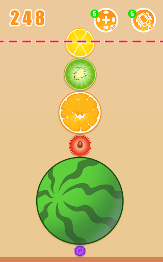 Fruit Crush - Merge Watermelon  screenshots 1