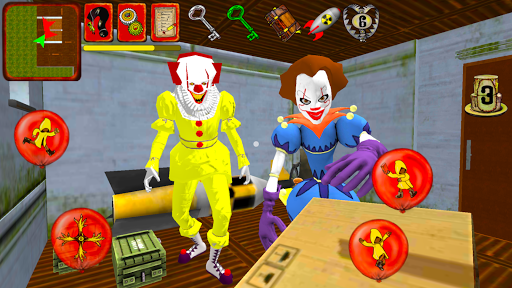 Clown Brothers. Neighbor Escape 3D apkpoly screenshots 3