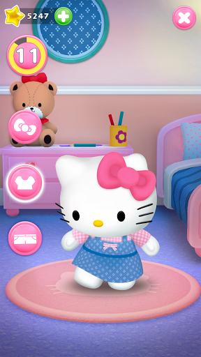 Talking Hello Kitty - Virtual pet game for kids  screenshots 4