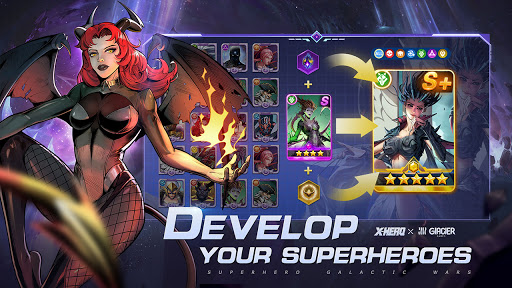 X-HERO: Idle Avengers apktram screenshots 13