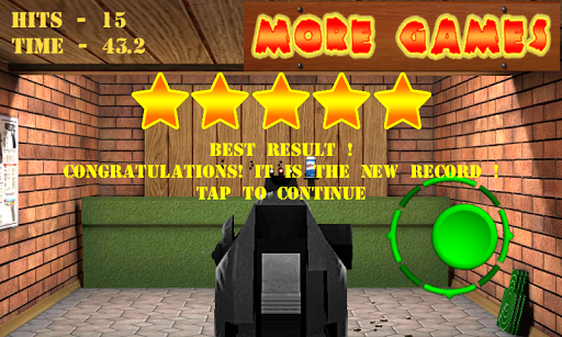 Pistol shooting at the target.  Weapon simulator 4.5 screenshots 7