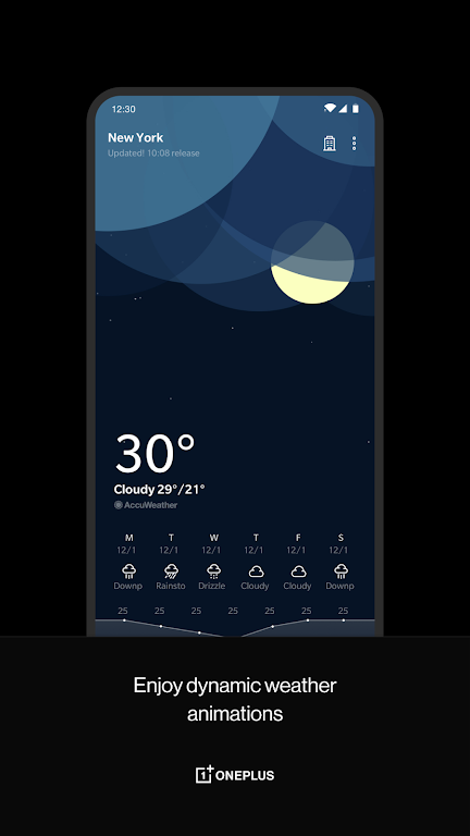 OnePlus Weather  poster 1