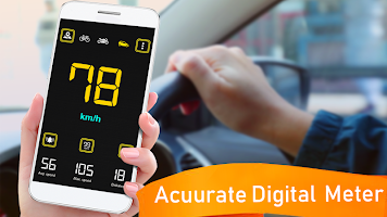 Gps Speedometer: Digital Speed Analyzer & Maps