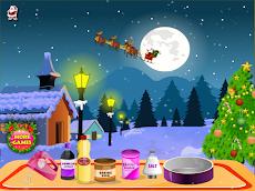 クリスマスケーキの女の子のゲームのおすすめ画像1