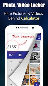 Photo,Video Locker-Calculator 23.0