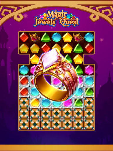 Magic Jewel Quest: New Match 3 & Jewel Games 2.0 screenshots 10