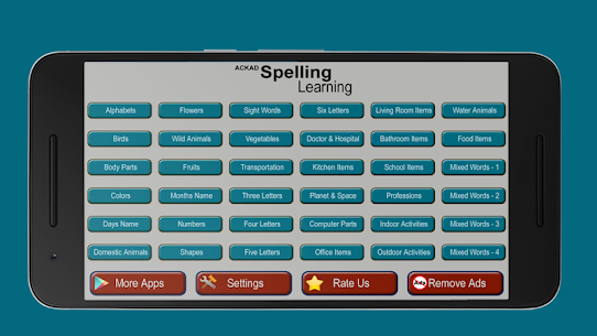 Kids Spelling Learning – Learn to spell and speak 8.5 Mod APK Latest Version 1