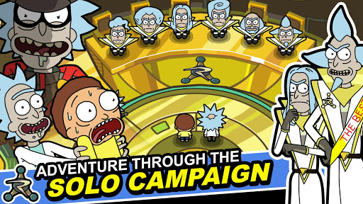 Rick and Morty: Pocket Mortys apkslow screenshots 3