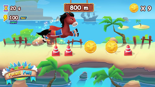 ud83eudd84ud83eudd84Pocket Pony - Horse Run apkpoly screenshots 12