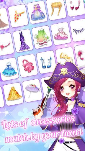 ud83dudc57ud83dudc52Garden & Dressup - Flower Princess Fairytale  Screenshots 11