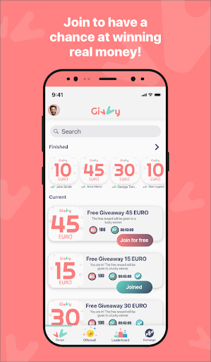 Earn money for Free with Givvy!  screenshots 1