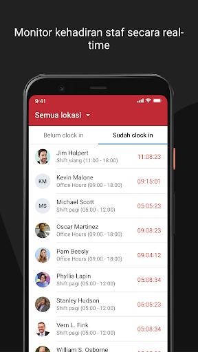 Attendance by Talenta - Aplikasi Absensi Karyawan  screenshots 4