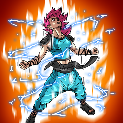 Burst To Power - Anime fighting action RPG