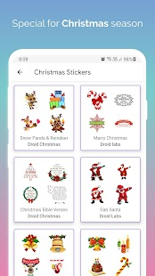 Christmas Stickers for WAStickerApps Screenshot