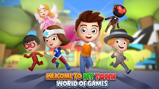 My Town World: 3D Mini Games for Kids 1