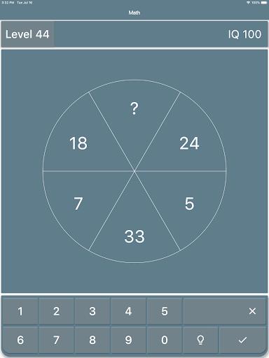 Math Riddles: IQ Test  screenshots 8