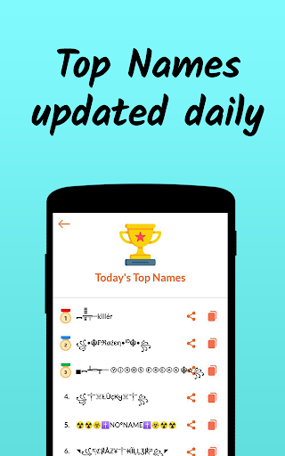 Nickname Fire ud83dudd25 : Free Nickfinder App ud83dudc8e android2mod screenshots 6