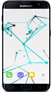 3D Abstract Particle Plexus Live Wallpaper APK 4