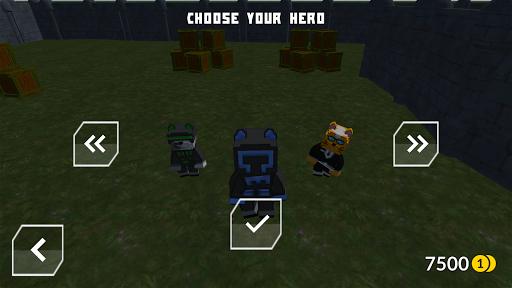 Cats vs Dogs - 3d Top Down Shooter & Pixel War  screenshots 4