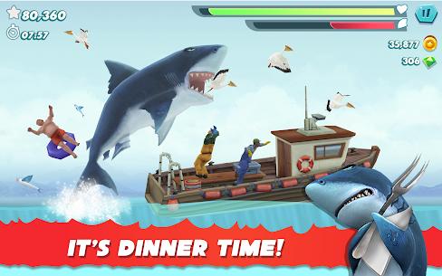 Hungry Sharks Evaluation MOD APk 8.2.0 (Money, Gems) 9
